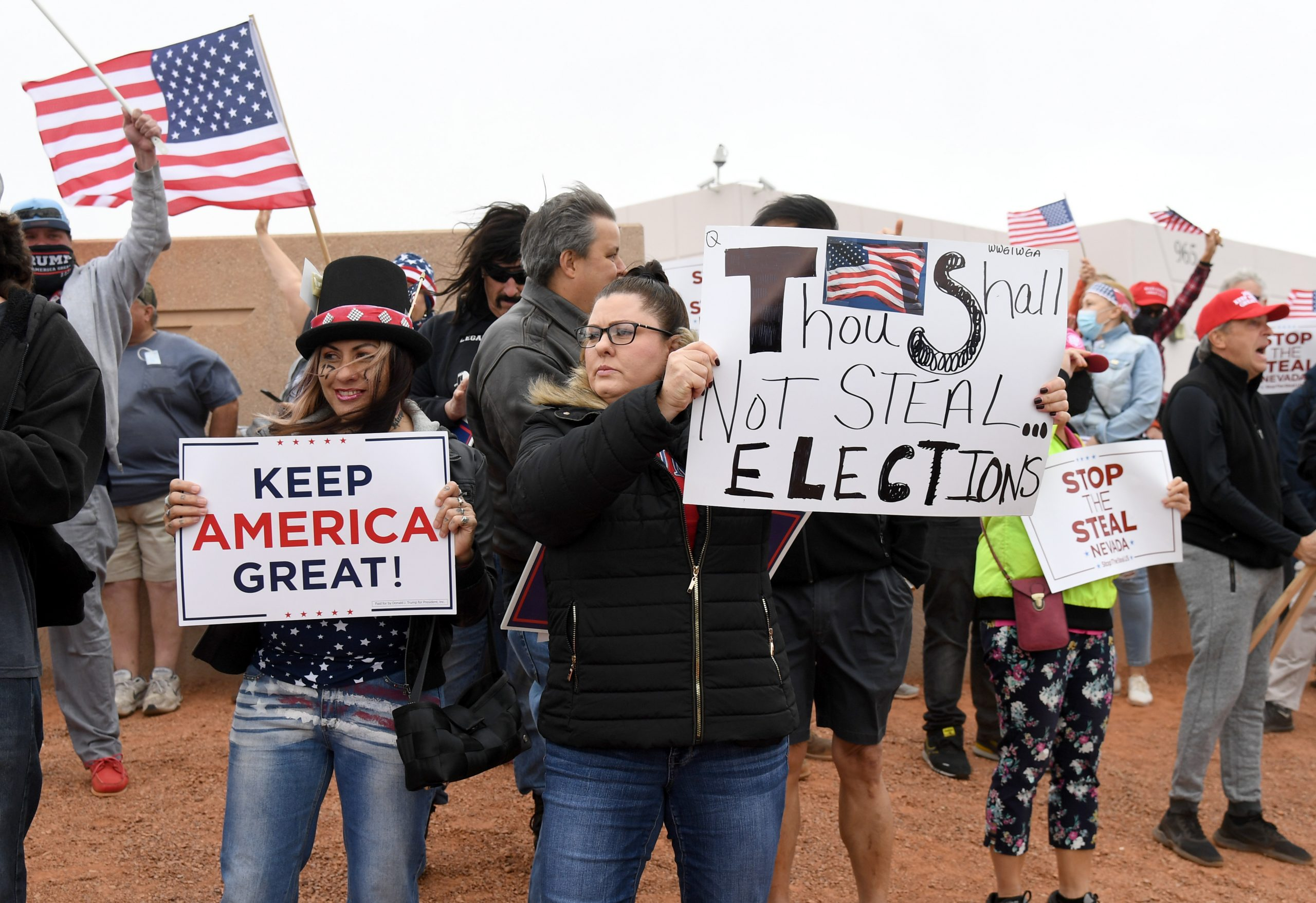 , Trump's Attacks on Democracy Are Poisoning His Voters' Minds, New Polls Show, Saubio Making Wealth