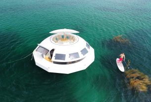 , Anthénea, World's First Floating Hotel Suite and Undersea Observatory, Saubio Making Wealth