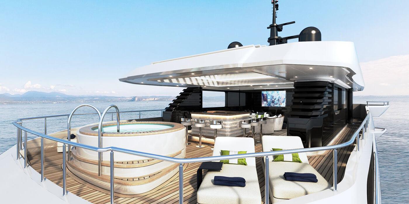 , Majesty 175 Superyacht: Refined Excess, Saubio Making Wealth