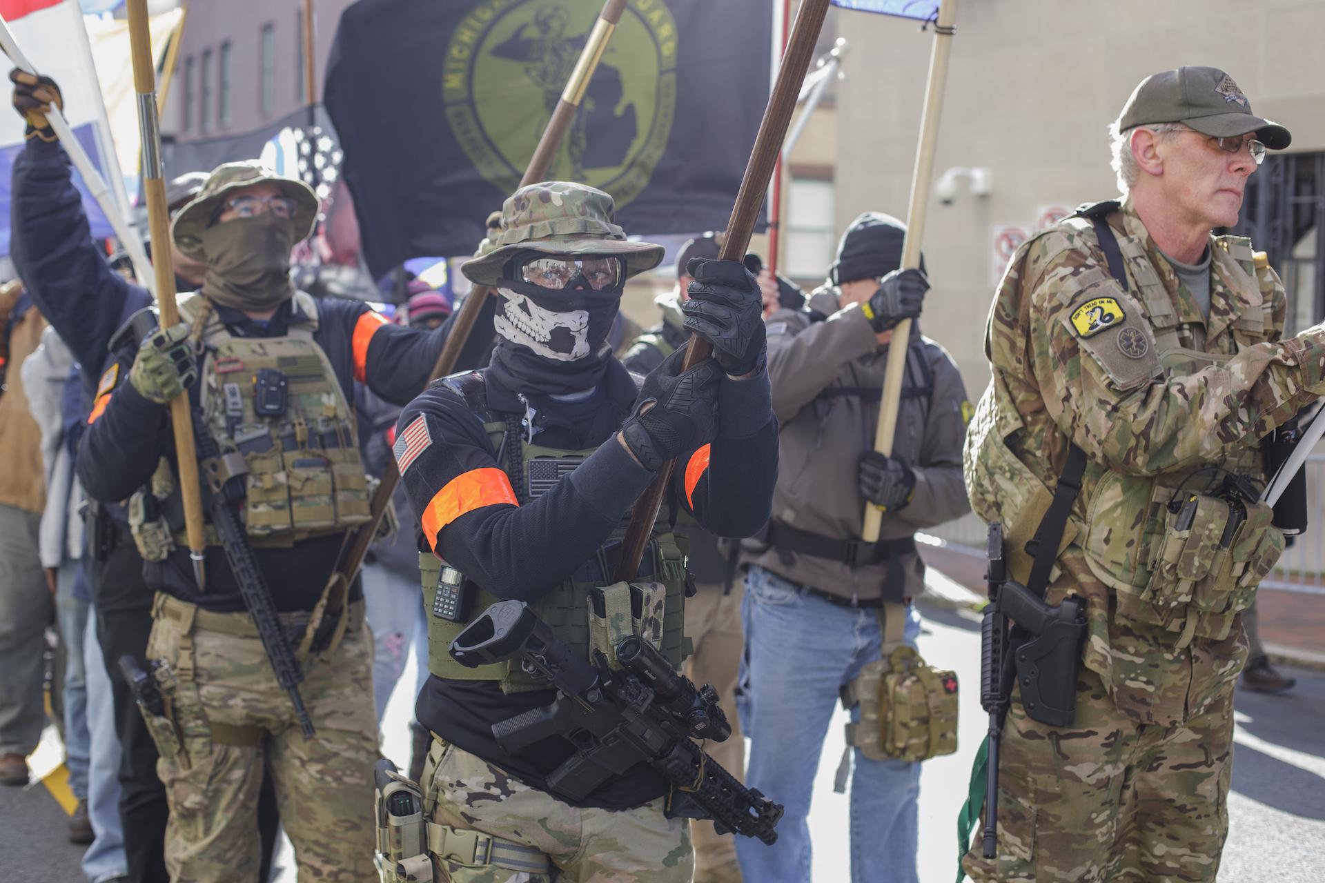 , Militias Are Getting Fired Up About Gun Control Under Biden, Saubio Making Wealth
