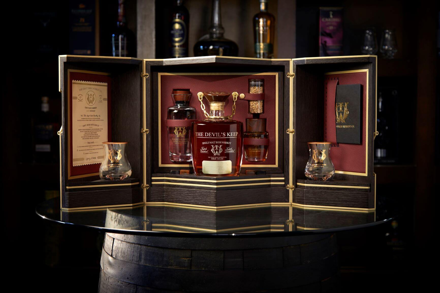 , The Devil's Keep, World's Most Expensive Whiskey Launch, Saubio Making Wealth