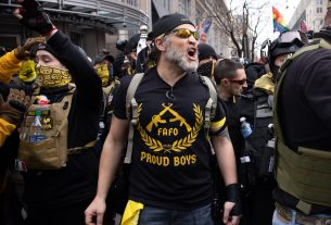, A Proud Boy in Disguise Helped Lead the Insurrection at the Capitol, Saubio Making Wealth