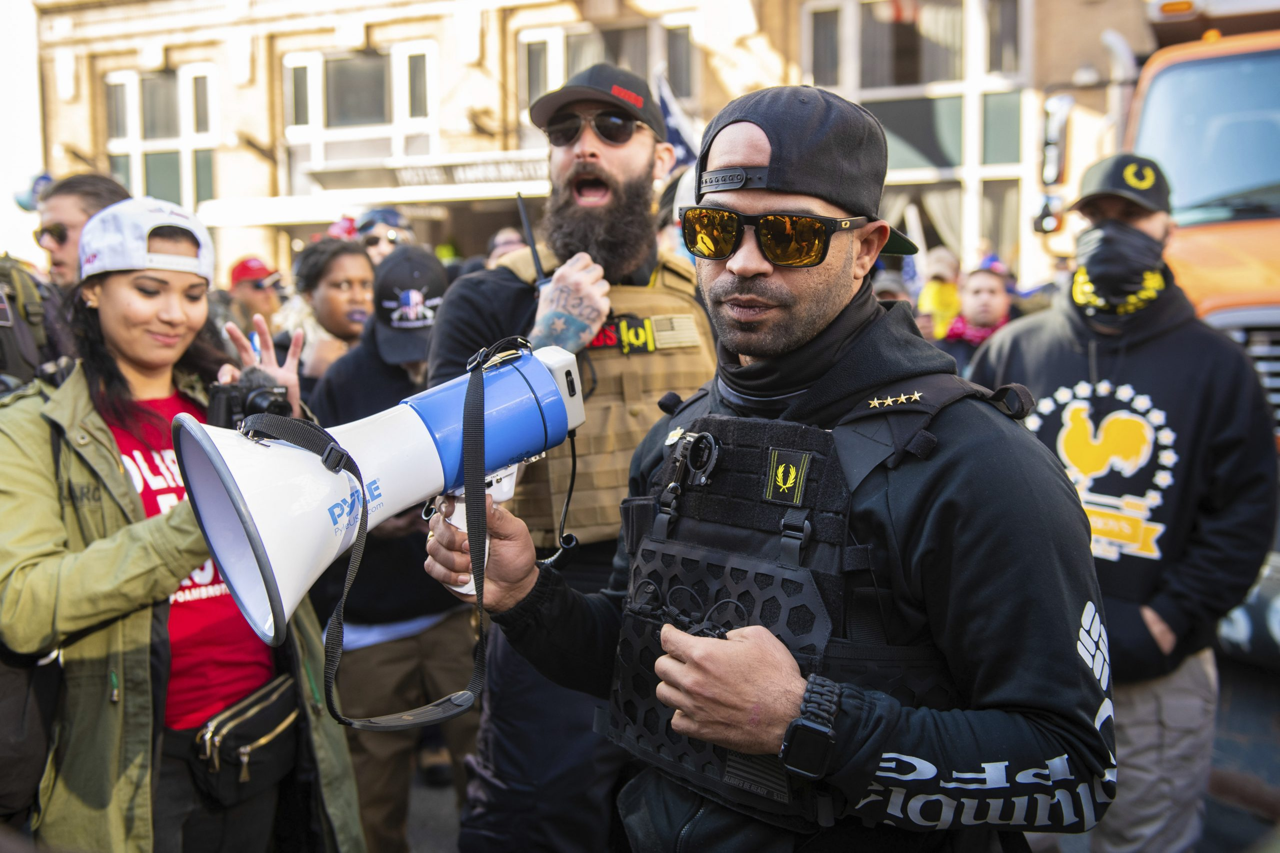 , The Proud Boys Are Raking In Donations from a Christian Crowdfunding Site, Saubio Making Wealth