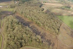 , HS2: Aerial footage shows what London to Birmingham route looks like now, Saubio Making Wealth