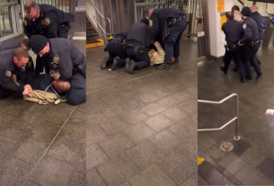 , Video Shows NYPD Cop Repeatedly Punching a Restrained Man in the Head, Saubio Making Wealth