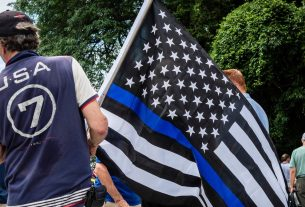 , White Supremacists Co-Opted the 'Thin Blue Line', So This Police Chief Banned It, Saubio Making Wealth