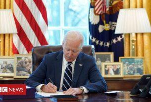 , Covid stimulus: Biden signs $1.9tn relief bill into law, Saubio Making Wealth