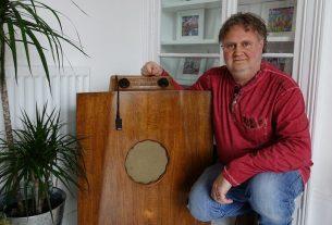 , 'I play digital music through my 1949 radio', Saubio Making Wealth