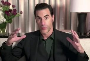 , Sacha Baron Cohen Thanks Giuliani in Golden Globes Speech: 'Who Could Get More Laughs After One Unzipping?', Saubio Making Wealth