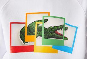 , The New Lacoste X Polaroid Collection, Saubio Making Wealth