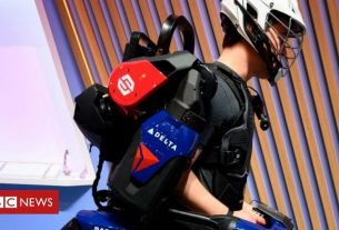 , The 'Iron Man' body armour many of us may soon be wearing, Saubio Making Wealth