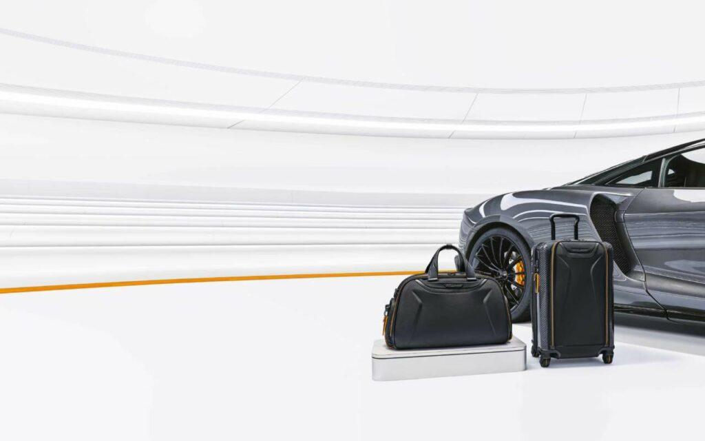 , TUMI Unveils Premium Capsule Luggage Travel Collection Inspired by McLaren, Saubio Making Wealth