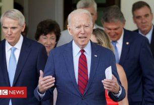 , Biden backs $1.2tn infrastructure bill but places big condition, Saubio Making Wealth