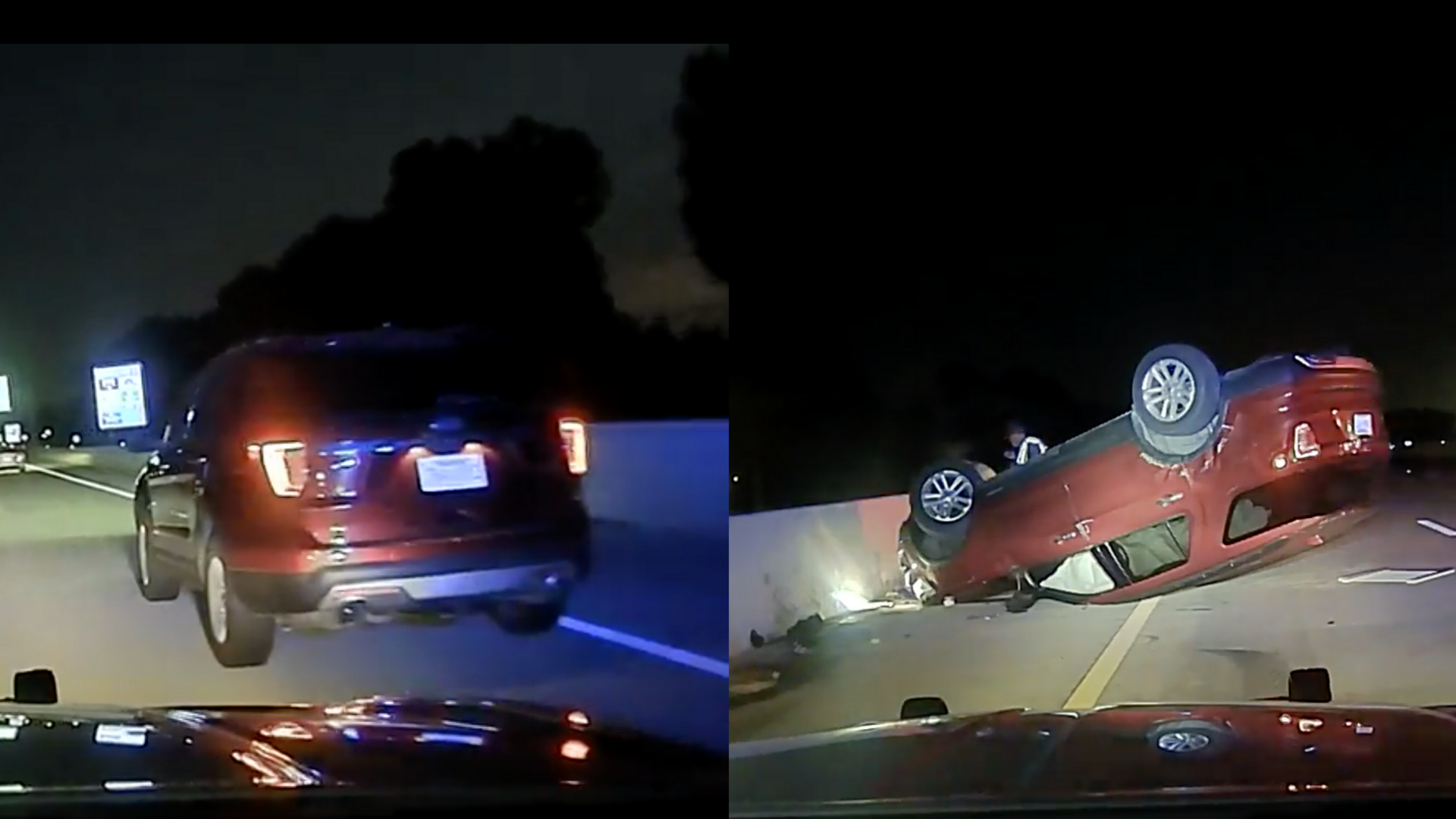 , Terrifying Video Shows State Trooper Flipping Pregnant Woman's Car, Saubio Making Wealth