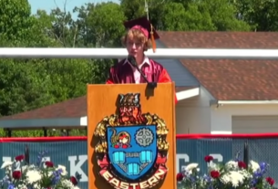 , Video Shows Queer Valedictorian's Mic Cut When He Talks About Coming Out, Saubio Making Wealth