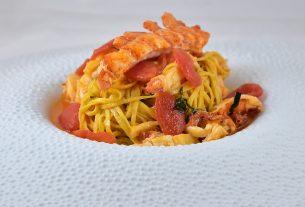 , A Lobster Tagliolini Recipe from a Michelin Star Chef!, Saubio Making Wealth