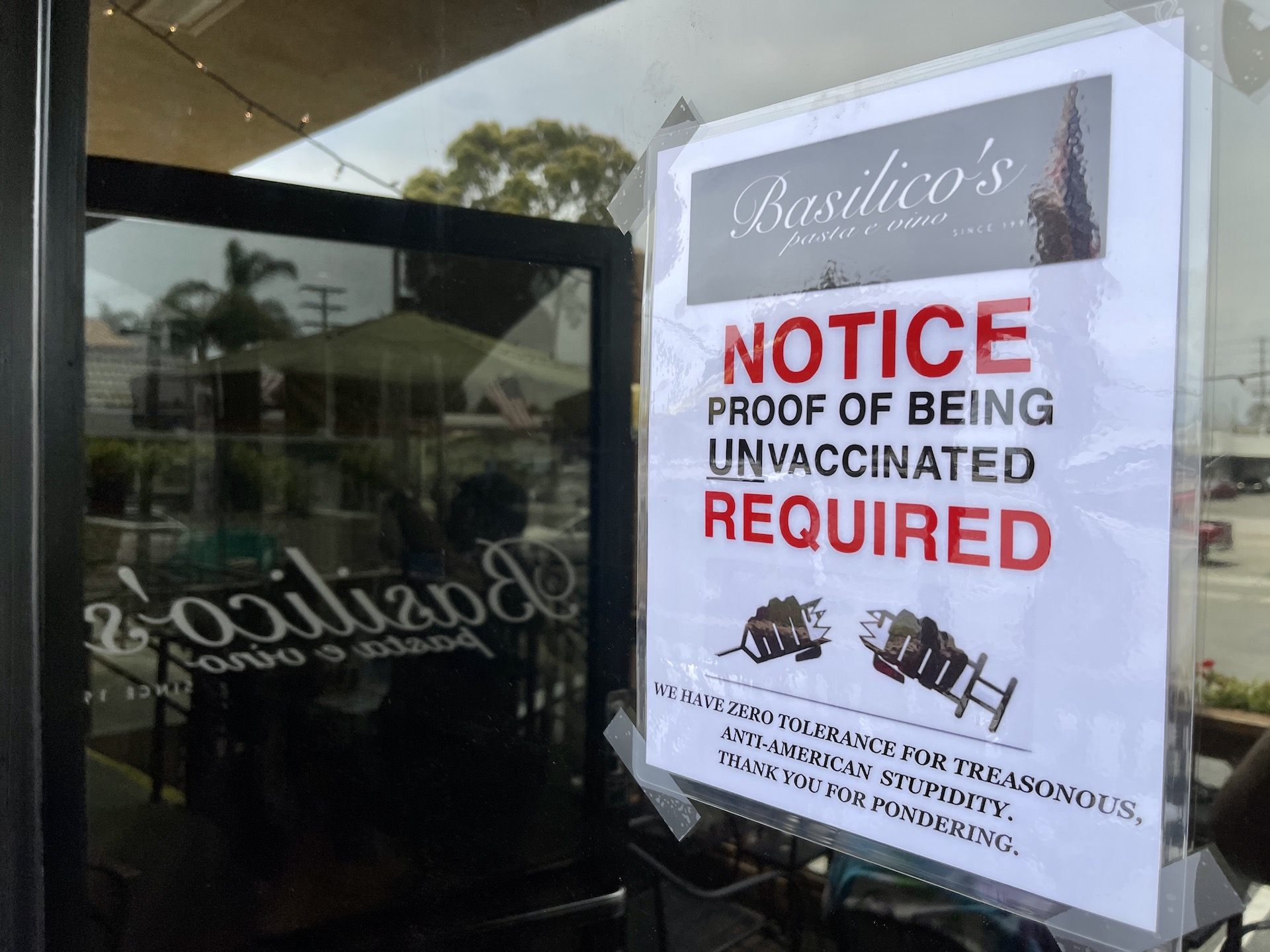 , COVID's Favorite Restaurant Only Serves Unvaccinated Guests, Saubio Making Wealth