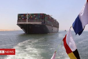 , Ever Given: Ship that blocked Suez Canal sets sail after deal signed, Saubio Making Wealth