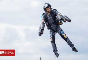 , Is the use of jetpacks finally about to take off?, Saubio Making Wealth