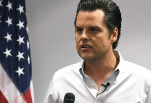, 'Florida Man' Matt Gaetz Spends Almost No Time in His Florida District, Saubio Making Wealth