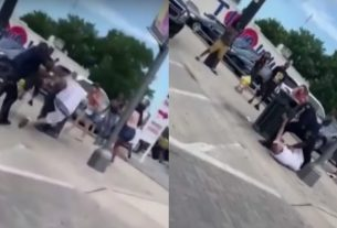 , Off-Duty SWAT Cop Reportedly Caught on Video Hurling Man into Lamp Pole, Saubio Making Wealth