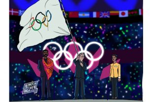 , Wakanda forever! This would be the Olympic Games in 2024 according to an artist, Saubio Making Wealth