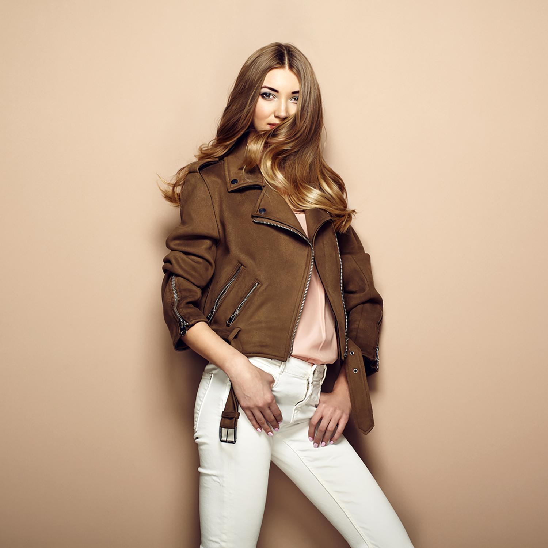 , Women's Guide: How to Wear a Tan Leather Biker Jacket, Saubio Making Wealth